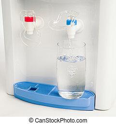 水, 傾瀉, 玻璃