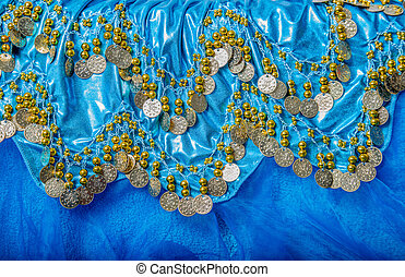 belly dance dress - the details of a dress belly dancing