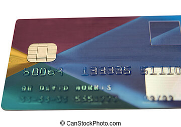 fake bank card 4 - fake bank card totaly remade on a white...