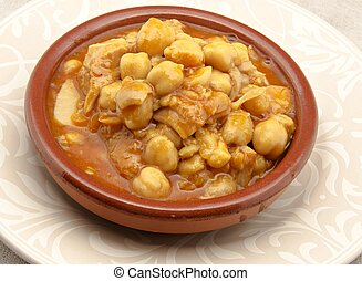 tripa, Garbanzos
