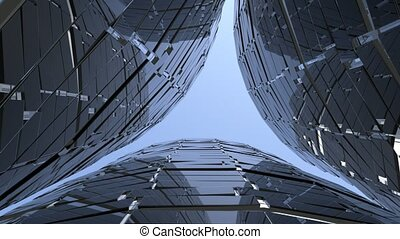 Abstract modern background - Abstract modern architectural...
