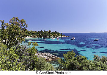French Riviera, France, Europe - Coastal landscape nearby...