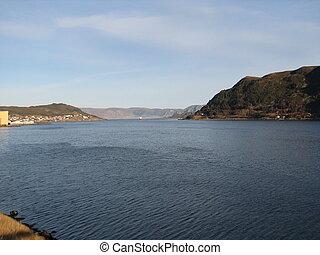 Fairway to Stadt in Norway. Picture is taken in maaloey...