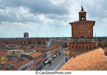 Este, イタリア, 城, Emilia-Romagna Romagna,  ferrara