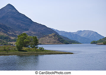 Loch Leven - beautiful scenery of Loch Leven, Scotland