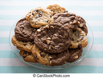 Chocolate chips cookies - Homemade chocolate chips cookies...