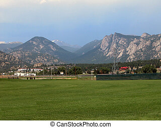 Estes Park, Colorado - Colorado's beautiful Rocky Mountains...