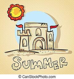 Summer, Sun Icons
