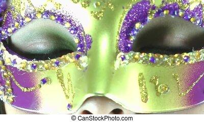 lady in mask HD