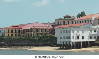 Casco Viejo The Old Area Of Panama City, Also Known As Casco...
