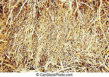Tomography of haystack for use as background