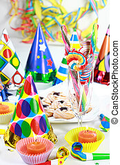 Party motive - Party accessories for New Year Eve, birthday...