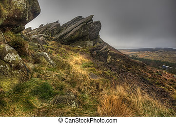 Ramshaw Rocks in Peak District National Park