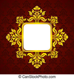 Classic Pattern Vintage Stock Vector