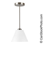 floor lamp isolated on a white