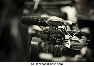 news shooting - professional camcorder and cameras ,...