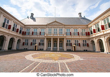Royal Palace, Stock Photo - Dutch Parliament, Den Haag,...
