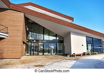 Modern office. Exterior - Exterior of new modern office...