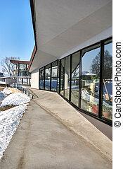 Modern office Exterior - Exterior of new modern office...