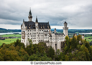 Neuschwanstein castle - neuschwanstein, Germany