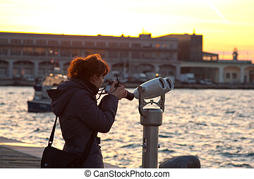 Photographer in Trieste - Photographer next to the sea in...