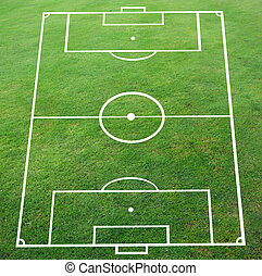 Soccer pitch with