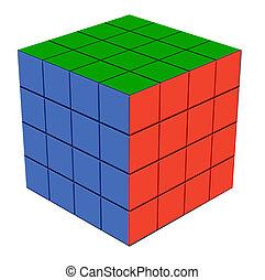 Fun item Quartet cube