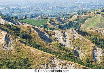 Badlands Emilia-Romagna Italy