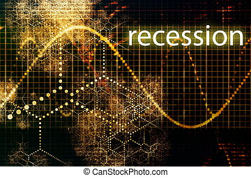 Recession Economy Business Concept Wallpaper Presentation...