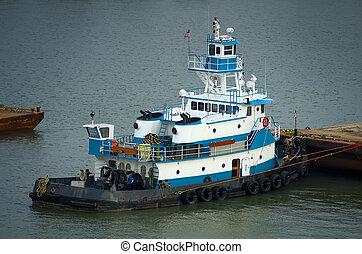 Tugboat at Dock