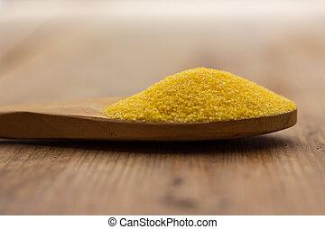 Yellow corn flour for polenta