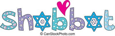 Holiday Shabbat design - jewish greeting background, vector...