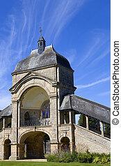 saint anne auray - saint anne d auray basilica in brittany,...