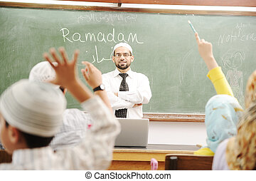 Ramadan time at school