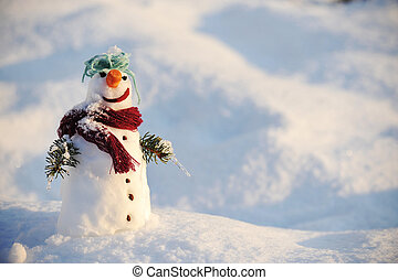 Snowman for winter christmas - Snowman