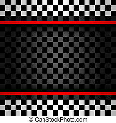 Racing square backdrop, vector illustration 10eps