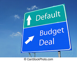 BUDGET DEAL - DEFAULT road sign