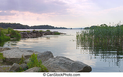 Evening on Lough Leane - The tranquil waters of Lough Leane...