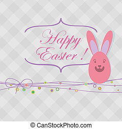 Easter card with copy space.  + EPS8