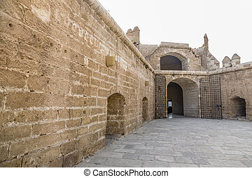 La Alcazaba monument located in Almeria Spain A fortress...