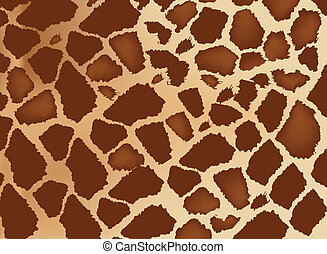 animal skin - skin of giraffe