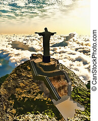 Christ the Redeemer - Famous statue of the Christ the...