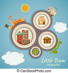 Little Town Infographics