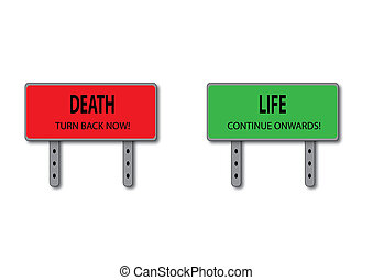 Life and Death Sign