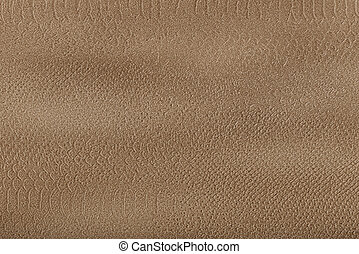 Background from yellow-brown coarse canvas texture