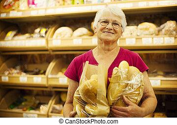 fresco, cocido al horno, bread