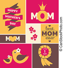 Mother's Day Greeting Card - Greeting card design for...