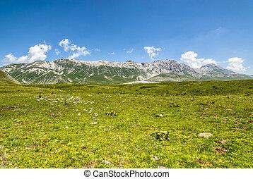 Landscape of Campo Imperatore - Campo Imperatore (L'Aquila,...