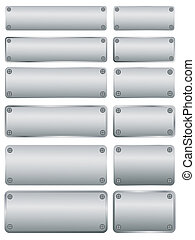 steel plates with screws