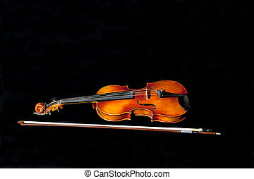 My old fiddle and bow